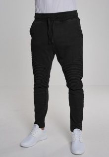 Urban Classics Acid Wash Biker Terry Pants black - L