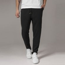 Urban Classics Tapered Interlock Sweatpants black - XL