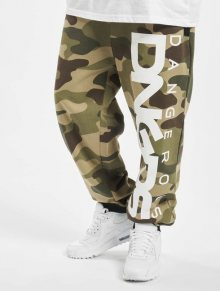 Dangerous DNGRS / Sweat Pant Classic in camouflage - M