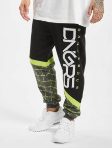 Dangerous DNGRS / Sweat Pant Woody in black - M