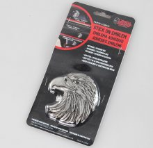 dekorácia (na auto) LETHAL THREAT - Eagle Head Emblem (Eagle Beak Facing Left) - LT88675